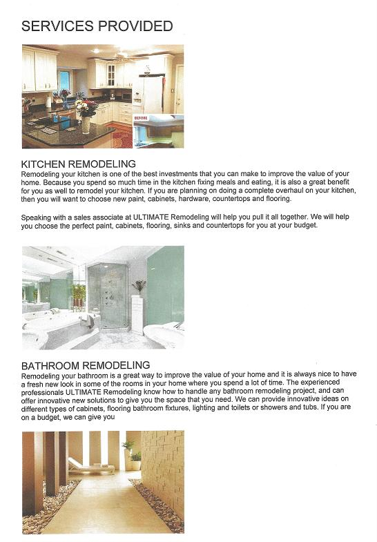 Business Directory Listing >> Ultimate Remodeling